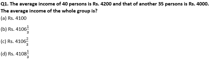 Target SSC Exams 2021-22 10000+ Questions Attempt Maths Quiz | Day 237_50.1