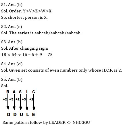 Target SSC Exams 2021-22 10000+ Questions: Attempt Reasoning Quiz | Day 239_70.1