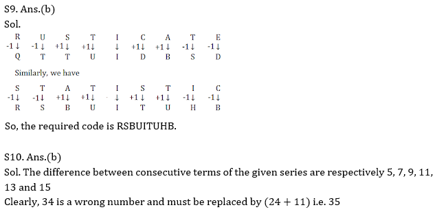 Target SSC Exams 2021-22 10000+ Questions: Attempt Reasoning Quiz | Day 239_90.1