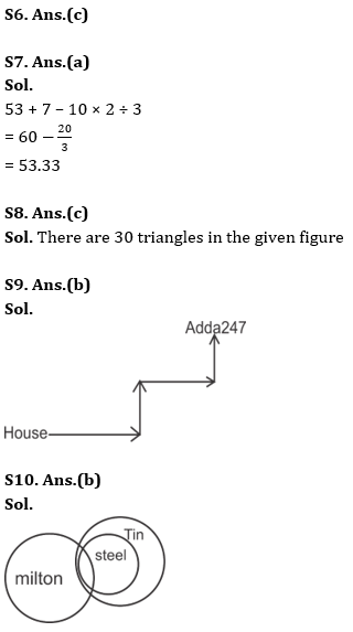 Target SSC Exams 2021-22 10000+ Questions: Attempt Reasoning Quiz | Day 240_70.1