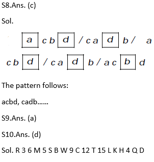 Target SSC Exams 2021-22 10000+ Questions: Attempt Reasoning Quiz | Day 246_80.1