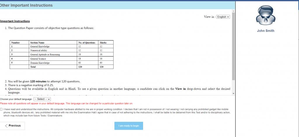 DFCCIL Mock Test : Attempt Official Mock Test @dfccil.com_80.1
