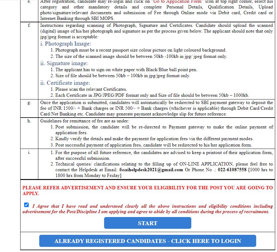 How to Apply Online for the FSSAI Recruitment 2021 : जानिए FSSAI भर्ती_90.1
