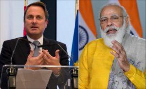 1st India-Luxembourg Virtual Summit_50.1