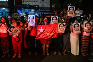 Aung San Sui Kyi Party claims to win Myanmar Elections_50.1