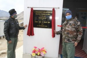 Ladakh gets largest solar project at Leh Indian Air Force station_50.1