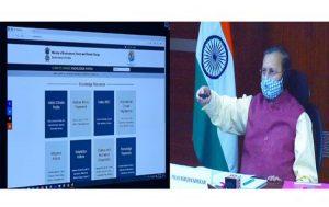 Prakash Javadeker launches India Climate Change Knowledge Portal_50.1