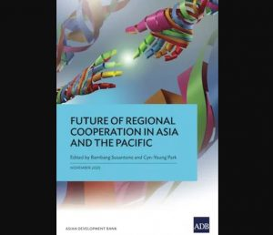A book titled 'Future of Regional Cooperation in Asia and the Pacific' by ADB_50.1