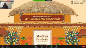 "Arjun Munda e-launches ""Virtual Aadi Mahotsav-Madhya Pradesh""_50.1"