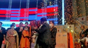 Yogi Adityanath rings bell at BSE for listing bond of LMC_50.1