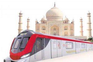 PM Modi virtually inaugurates Construction work of Agra Metro project_50.1