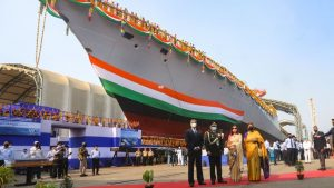 GRSE Kolkata launches 'Himgiri', its 1st Ship of Project 17A_50.1