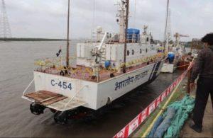 Indigenously-built Coast Guard interceptor boat C-454 commissioned_50.1