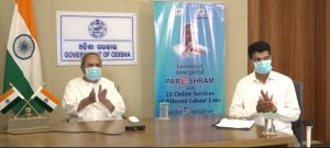 Odisha CM Naveen Patnaik launched 'Pareshram' Portal_50.1