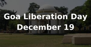 Goa Liberation Day: 19 December_50.1