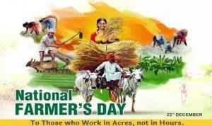India Observes National Farmer's Day on December 23_50.1