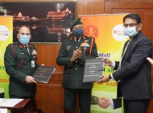 """BoB signs MoU with defence forces named """"Baroda Military Salary package""""_50.1"""