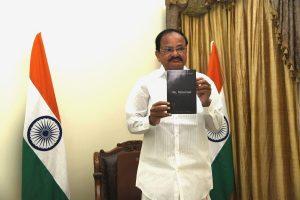 VP Venkaiah Naidu virtually released the book 'Oh Mizoram'_50.1