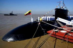 Myanmar Navy formally commissions INS Sindhuvir submarine_50.1