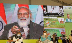 PM Modi lays foundation stone of Light House projects (LHPs)_50.1