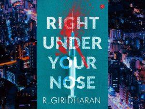 RBI officer Giridharan pens novel 'Right Under our Nose'_50.1