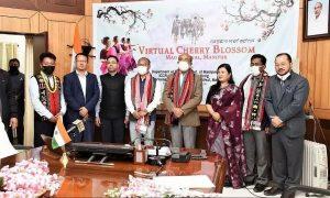 Manipur: CM Biren Singh virtually inaugurated Cherry Blossom Festival_50.1