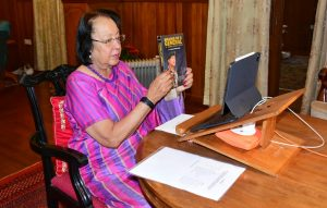 """Manipur Guv released book """"Making of a General A Himalayan Echo""""_50.1"""