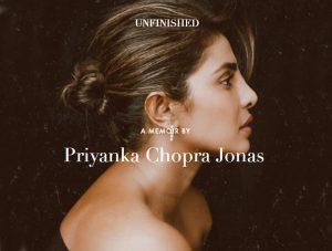 Actor Priyanka Chopra Jonas' memoir named 'Unfinished'_50.1
