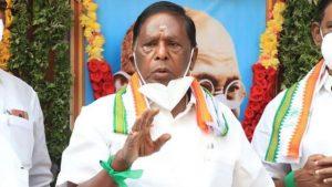 Puducherry Chief Minister V Narayanasamy Resigns_50.1