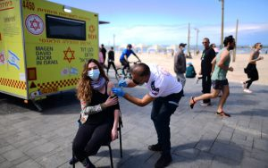 """Israel launches """"green pass"""" for people with vaccination certificate_50.1"""