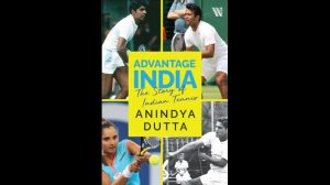 """A book titled """"Advantage India: The Story of Indian Tennis"""" by Anindya Dutta_50.1"""