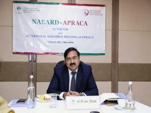 """NABARD""""s Chintala takes charge as chairman of APRACA_50.1"""