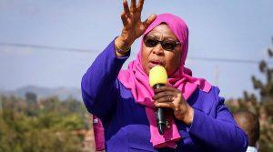 Samia Suluhu Hassan sworn in as Tanzania's first woman President_50.1