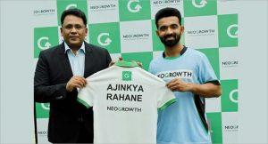 NeoGrowth appoints Ajinkya Rahane as brand ambassador_50.1