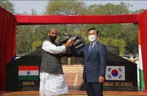 Indo-Korean Friendship Park Inaugurated at Delhi Cantonment_50.1