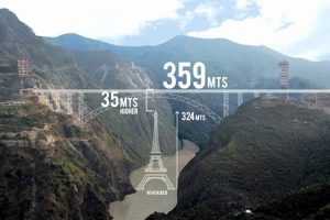 India completes arch of world's highest railway bridge in J&K_50.1