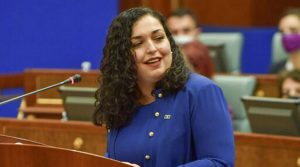 Kosovo's parliament elects Vjosa Osmani as president_50.1