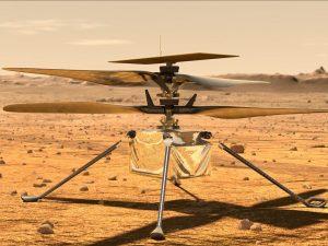 NASA's Ingenuity Helicopter Takes Flight On Mars_50.1