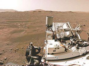NASA's Perseverance Mars rover extracts first oxygen from Red Planet | नासाच्या चिकाटीने मंगळ रोव्हरने रेड प्लॅनेटमधून प्रथम ऑक्सिजन काढला_40.1