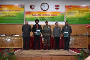 Indian Army signs MoU with HPCL & NIEDO for Ladakh Ignited Minds project_50.1