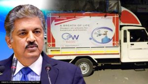 Anand Mahindra launches Project 'Oxygen on Wheels'_50.1