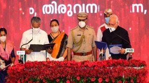 Pinarayi Vijayan takes oath as Kerala Chief Minister for 2nd time_50.1