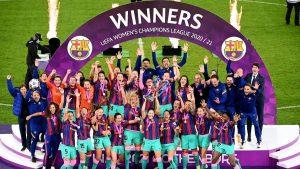 Barcelona Women beat Chelsea Women to win Women's Champions League trophy_50.1