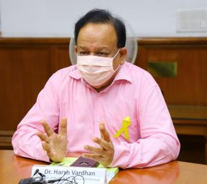 Dr Harsh Vardhan chairs 74th World Health Assembly_50.1