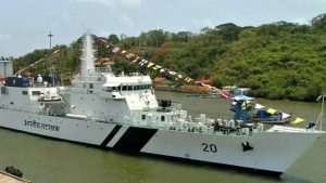 NSA Doval commissions Indian Coast Guard's ship Sajag_50.1