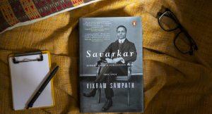 A book title 'Savarkar: A contested Legacy (1924-1966) authored by Vikram Sampath_50.1