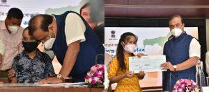 Assam CM Sarma launches Sishu Seva Achoni for COVID-19 Orphans_50.1