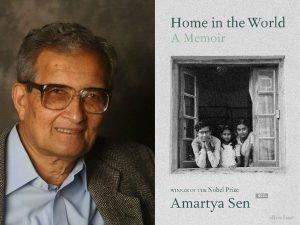 'Home in the World' Book: by Amartya Sen's memoir_50.1