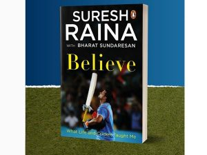 Cricketer Suresh Raina releases his autobiography 'Believe'_50.1