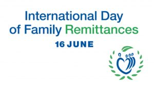 International Day of Family Remittances: 16 June_50.1